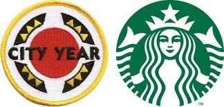 Starbucks And City Year Logo Png 1671