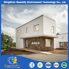 100 Cheap Modern House China Prefab Steel Structure Luxury Insulation