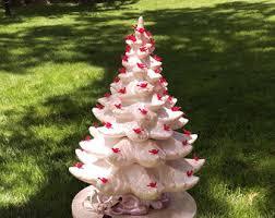 Vintage Atlantic Mold Ceramic Christmas Tree by Atlantic Mold Tree Etsy