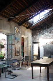 italian interiors vintage industrial interior style in milan