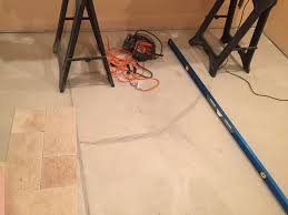 Dap Flexible Floor Patch And Leveler Youtube by How To Level A Concrete Floor For Tile Home U2013 Tiles