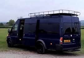 Ford Transit Minibus Camper Van Conversion Day Surf Festival Stealth Motorhome Bespoke Design