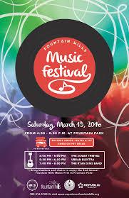 Music Fest Poster 2016