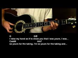 how to play 18th floor balcony by blue october instructional