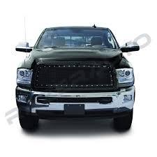 100 Grills For Trucks Amazoncom Razer Auto Gloss Black Rivet Studded Frame Mesh Grille