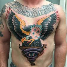 Rebel Muse Tattoo Tattoos Back Chest Eagle All Seeing Eye