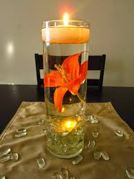 Floating Candle Centerpieces Wedding Reception Centerpiece Ideas