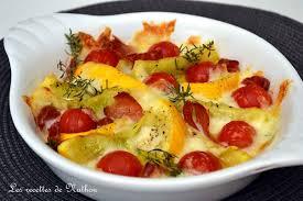 cuisiner courgette ronde recette de courgettes rondes et tomates cerise rôties au jambon cru