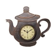 hause dekoration küche wanduhr antike kaffee teekanne form kunststoff uhr für esszimmer buy wanduhr küche wanduhr teekanne uhr product on