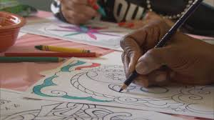 Thinking Outside Of The Crayon Box Adults Use Coloring Books As