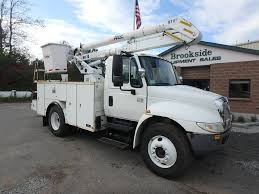 100 Service Truck With Crane For Sale 2007 INTERNATIONAL 4200 Phillipston MA 5004670719