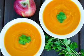 Pumpkin Butternut Squash Soup Curry by Red Curry Coconut Butternut Squash Soup Slender Kitchen