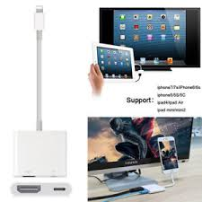 Lightning to Digital AV TV HDMI Cable Adapter For Ipad air iphone