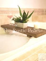Bamboo Bathtub Caddy Bed Bath Beyond by Accessories Marvelous Tub Shelf Teak Bathtub Rustic Caddy Tray