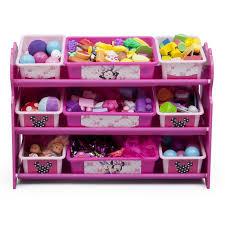 Delta Children Minnie Mouse 10 Piece Toy Organizer Set & Reviews