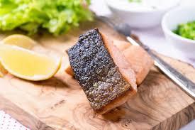 comment cuisiner un pavé de saumon pavé de saumon cuit à l unilatérale