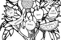 Ideas Collection Bearing Fruit Coloring Page About Example