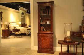 small mahogany china cabinet or curio for dining room georgian