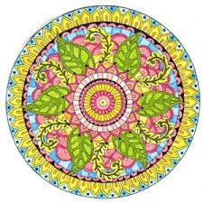 Wicca Spirituality Leafy Mandala