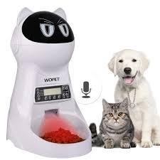 Pet Supplies WOpet Pet Feeder Automatic Cat Feeder Pet Food