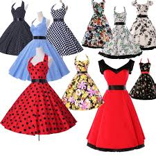 rockabilly vintage style swing 1950s 1960s housewife classic pinup