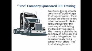 Free Truck Driving Schools - CDL Training - YouTube Class 1 Truck Driver Traing In Calgary People Driving Medium Dot Osha Safety Requirements Trucking Company Profile Wayfreight Tricounty Cdl Trucking Traing Dallas Tx Manual Truck Computer 210 Garrett College Provides Industry With Trained Skilled Tucson Arizona And Programs Schools Of Ontario Striving For Success What Does Stand For Nettts New England Tractor Trailer Falcon Llc Home Facebook Dz Or Az License Pine Valley Academy About Us Napier School Ohio