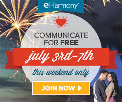 eHarmony running a free weekend for 4th of July OFFER HERE