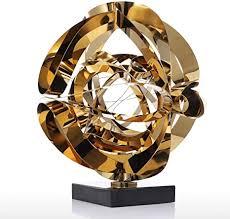 douya deko wohnzimmer modern traum blume skulptur moderne