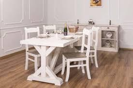 küchentisch esstisch massivholz 40 farben maße 210x90 landhausmöbel weiss