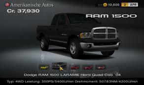 Bild - Dodge RAM 1500 LARAMIE Hemi Quad Cab.png | Gran Turismo ...