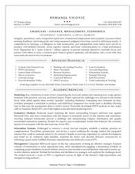 Recent College Graduate Resume Best Of Very Attractive Example For A Job Examples And Samples