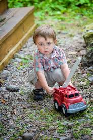 100 Toddler Fire Truck Videos A Playing With A Toy Outside In The Summer