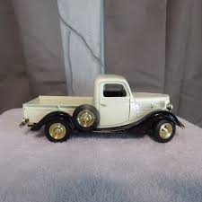 100 Diecast Truck Models 1937 Ford Pickup Signature 124 Scale SS7603 EBay