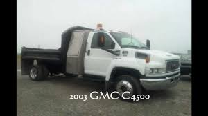 100 Dump Trucks For Sale In Michigan 2003 GMC C4500 Dump Truck For Sale In Michigan YouTube