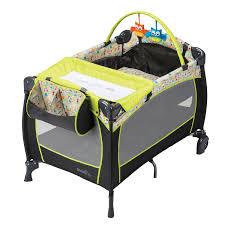 Space Saver High Chair Walmart Canada by Evenflo Babysuite Deluxe Playard Woodland Buddies Nursery