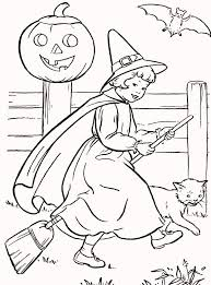 Coloringpagesfortoddlers Enjoy These Free Printable New Vintage Halloween Coloring Pages Are Fun