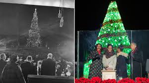 Chicago Christmas Tree Disposal by Photos The National Christmas Tree Through The Years