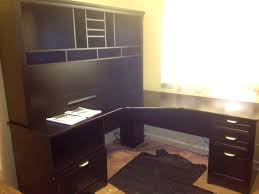 Altra Chadwick Collection L Desk And Hutch by Realspace Magellan Performance Collection L Desk
