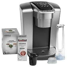 Keurig K Elite C Single Serve Coffee Maker 15 Cup Pods And