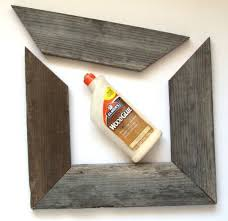 Easy Barn Wood Frame From An Old Picture Remodelaholic