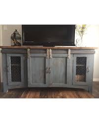 Rustic Tv Stand Furnituremedia Console Wood Furniture Farmhouse Handmade