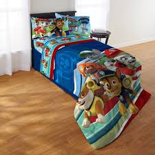 Paw Patrol Puppy Hero Twin 4 piece Bed in a Bag with Sheet Set