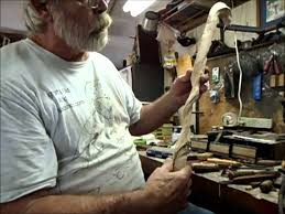 how to make a carved wooden cane youtube
