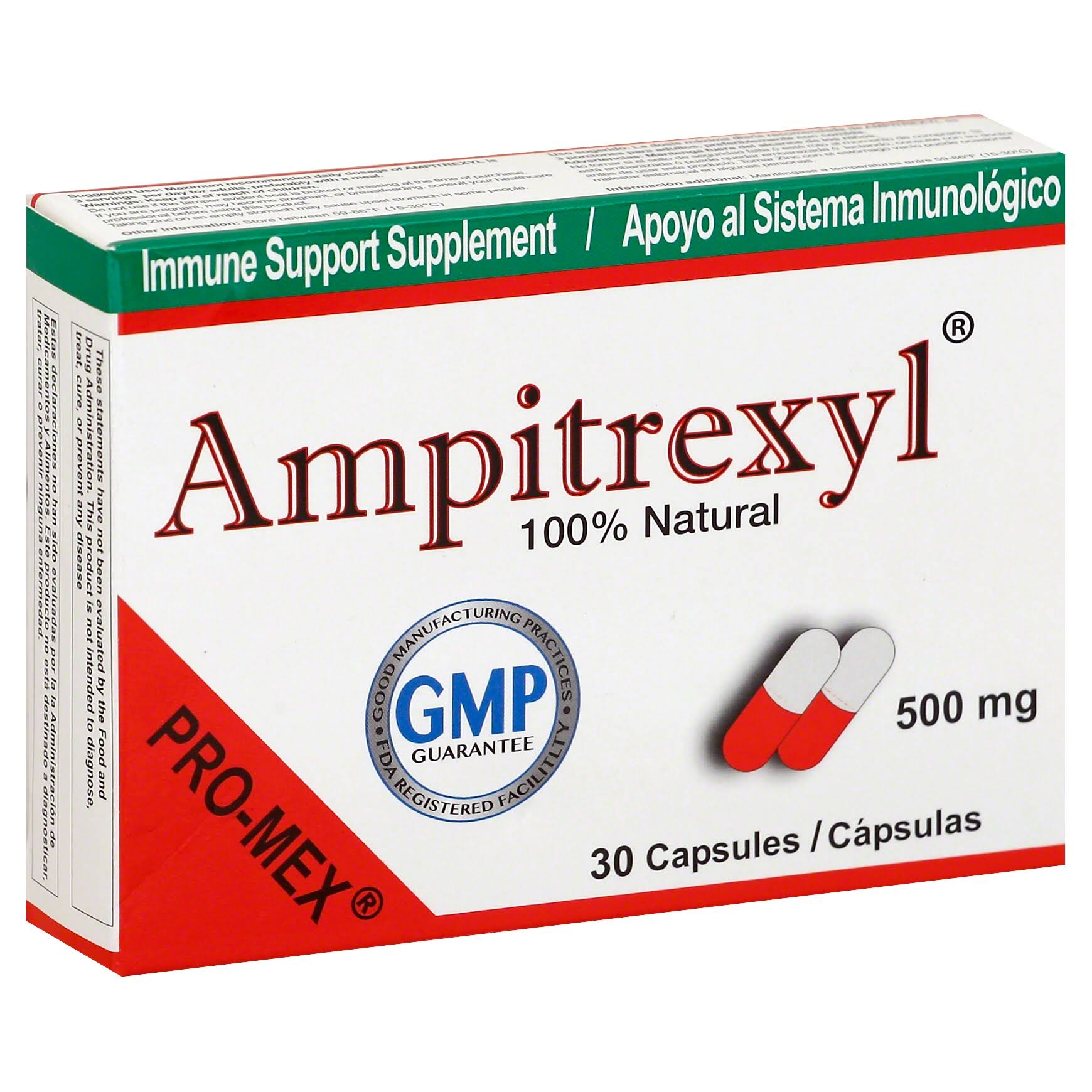 Promex Ampitrexyl Natural Dietary Supplement - 30ct