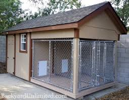 Backyard Sheds Jacksonville Fl by Animal Structures Dog Kennels Backyard Unlimited