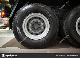 MOSCOW, SEP, 5, 2017: View On Volvo Truck Wheels And Tires. Truck ... Heavy Truck Tires Slc 8016270688 Commercial Mobile Tire Sumacher U6708 Stagger Rib Yellow Monster Stadium How To Choose The Right Truck Tires Tirebuyercom Bridgestone How Remove Or Change Tire From A Semi Youtube Nokian Hakkapeliitta E Tyres Michelin Introduces Microchips Make Smart Transport Watch Iconic Bigfoot Gets Change The Amazoncom Bqlzr Black Rc 110 Water Wave Wheel Hub Master Drive Us Company