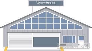 Warehouse Clipart Blue 13
