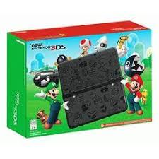 Nintendo New Nintendo 3DS Super Mario Black Edition Nintendo 3DS