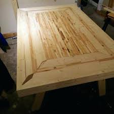 Wood Pallet Table Kitchen Recycled Pallets Diy