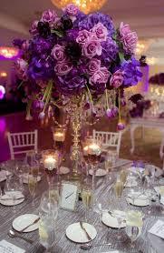 purple wedding reception decorations Wedding Decor Ideas